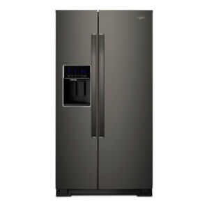 36 INCH WHIRLPOOL BLACK STAINLESS  WATER & ICE- WRS588FIHV