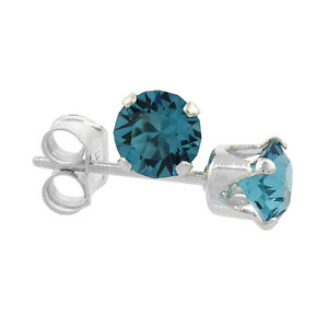 Sterling Silver Swarovski Crystal Birthstone Stud Earrings $6 ea Windsor Region Ontario image 9