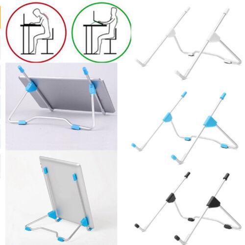 Practical Folded Bracket Laptop Tablet  Notebook Rack Metal