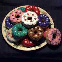 Crocheted Doughnuts For Sale