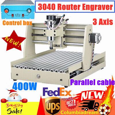 3axis Cnc 3040t Router Engraver 400w Engraving Drillingmilling Machine Desktop