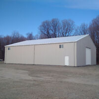 PLAN YOUR 2016 STEEL BUILDING PROJECT NOW!