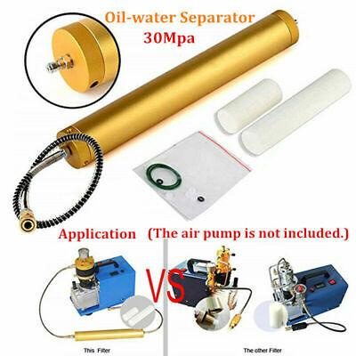 Oil-water Separator Air Filter High Pressure Pcp Compressor Pump 4500psi 30mpa