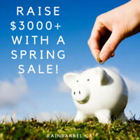 Earn as Much as $3000 This Spring With Rain Barrels