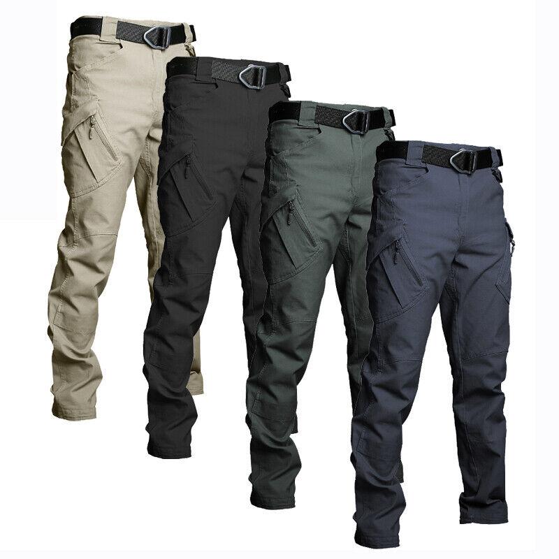 New Soldier Tactical Waterproof Pants Men Cargo Pants Combat Hiking Outdoor Pant