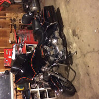 harley electraglide classic mint shape lots done to it