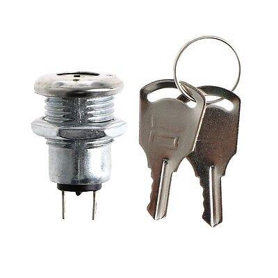 1pc Key Switch Onoff Lock Switch Ks-02 Electronic With Keys