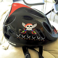 """2014 Max Cycling Helmet by Lazer """"Pirate"""" - Barely Used"""