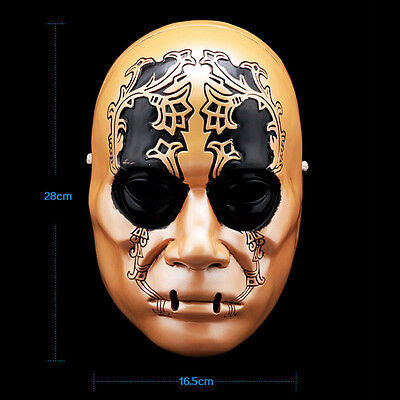 Harry Potter Death Eaters Resin Mask Cosplay Props Halloween Mask - Death Eater Halloween Mask