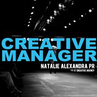 Creative Manager needed for PR agency