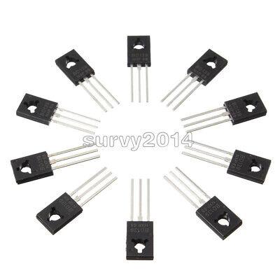 50pcs Bd139 Transistor Npn 1.5a 80v To126 New