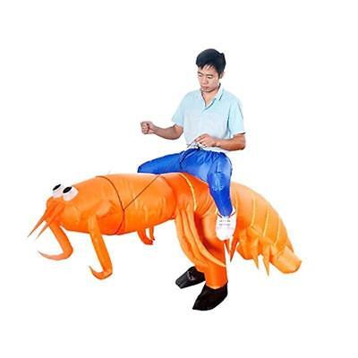 Big Inflatable Suit (Mantis Shrimp Mascot Costume Blow Up Inflatable Big Party Parade Toy Outfit)