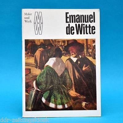 DDR   Maler und Werk   Emanuel de Witte   1980   Bild Gemälde Malerei A