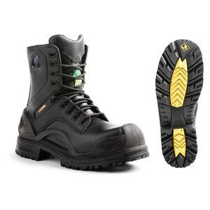 Terra BRIDGE Men's Black Waterproof Work Boots