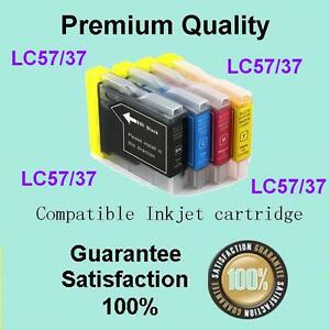 4 x Ink Cartridge LC57/37XL for Brother MFC240C 260C 440CN DCP130C 135C 150C 330
