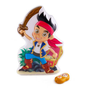 Wall Friends Jake Never Land Pirate Talking Room Light BRAND NEW