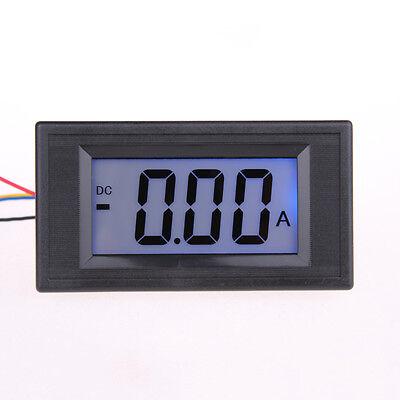 Dc 20a75mv Blue Lcd Digital Panel Meter Current Ampere Meter Ammeter Gauge