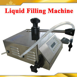 Semi-automatic Liquid/Water Filling Encapsulation Machine Pump