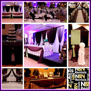 Wedding decor, backdrops, ceremony decor & linen rentals Edmonton Edmonton Area image 10