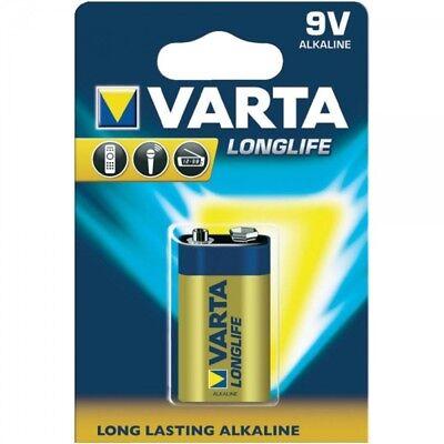 9v Alkaline-batterie (6LR61 LongLife Extra Alkaline-Batterie 9V E-Block MN1604 von VARTA)