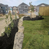 Landscaping, Excavation, Retaining Walls, Bobcat Services