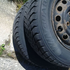 185/70/R14 winter rims and tires