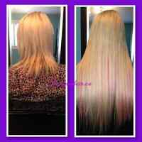 Fusion Hair Extensions (High quality euro hair)