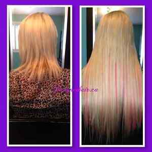 Fusion Hair Extensions (High quality euro hair) Kitchener / Waterloo Kitchener Area image 1