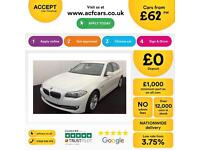 BMW 520 2.0TD auto 2012MY d SE FROM £62 PER WEEK!