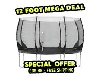 """Buy Now """"12ft Trampoline"""" for only £39.99 inc Free Shipping"""