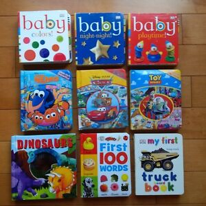 35 Books for Baby or Toddler Boy or Girl