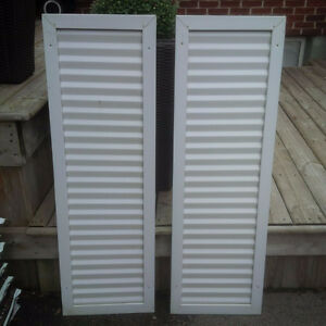 Aluminum Shutters $10 a pair London Ontario image 1