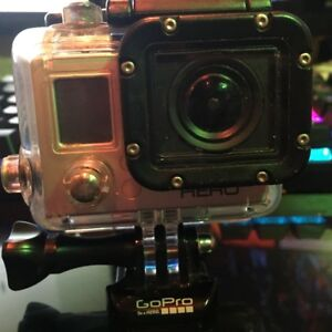 GOPRO HERO 3 and a 64 GB Sony micro sd card