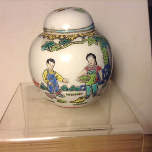 Antiques Chinese Small Container