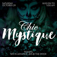 Chic Mystique Halloween Party at Studio Chic London