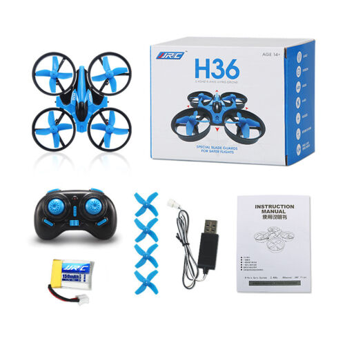 RC Micro Quadcopters JJRC H36 Drone 6 Axis @ Headless Mode One Key Return 2.4GHz