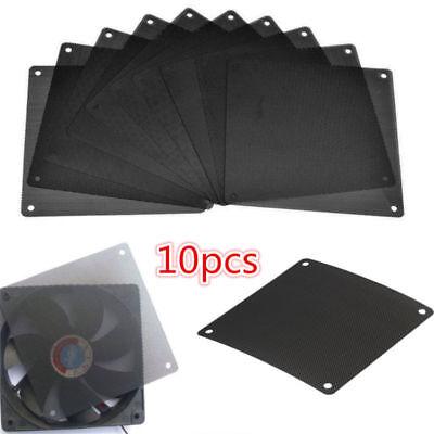 10pcs 120mm PVC PC Fan Dust Filter Dustproof Case Computer Cooler Cover (120 Mm Fan Filter)