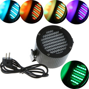 86 RGB LED PAR DMX-512 Stage Light 4CH Disco Lighting Laser Party Show Projector