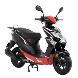 Lexmoto Echo 50 - 50cc Brand New CBT Moped Scooter - Red/Black