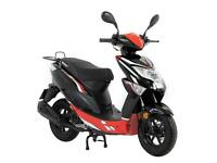 Lexmoto Echo 50 - 50cc Brand New CBT Moped Scooter - Both Colours Available