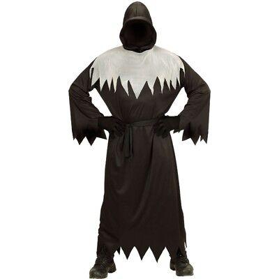 Sensenmann Grim Reaper Ghoul Tod Kinder Kostüm Halloween Robe mit Kapuze & - Grim Reaper Kostüm