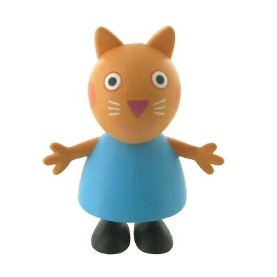 Peppa Pig Figurine Candy Cat 2 3/8in Comansi Figure 90154