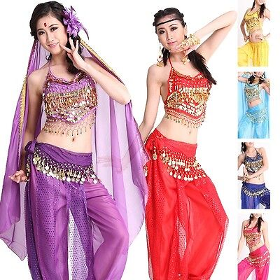 Belly Dance Costumes set Party Halloween Professional for Girl or woman  #DP12 - Belly Dancing Costumes For Halloween