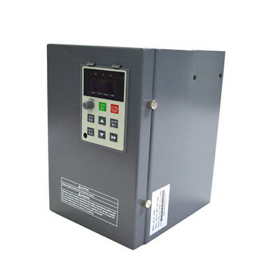 5.5kw 7.5hp 23a Vfd Inverter Frequency Converter 1phase 220v To 3phase 0-220v