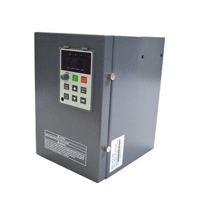 5.5kw 7.5hp 23a Vfd Inverter Frequency Converter 1phase 220v To 3phase 0-220v