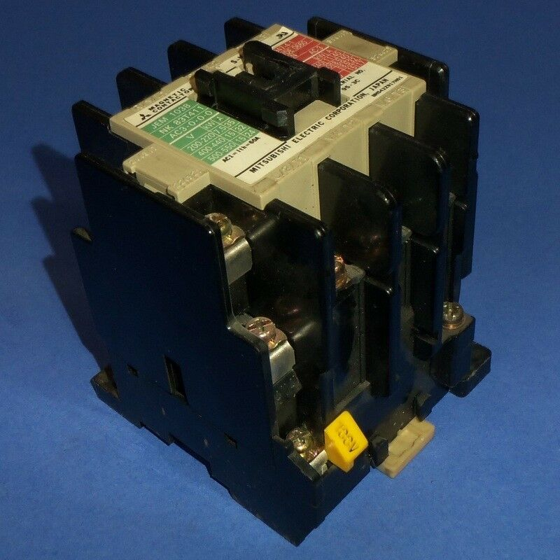 MITSUBISHI ELECTRIC 100VAC COIL MOTOR STARTER CONTACTOR S-K35