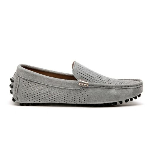 Mens Driving Moccasins Shoes Pumps Slip on Loafers Hollow out Breathable Flats B