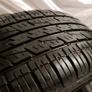 225/60/17 kumho solus set of 4 tires 8/32