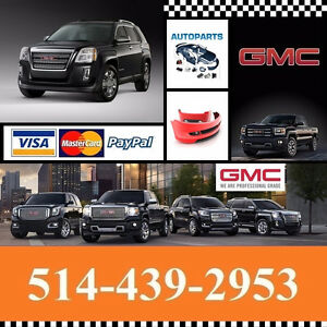 GMC Terrain ►  Ailes et Pare-chocs - Fenders and Bumpers