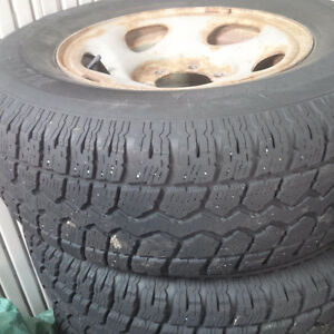Winter tires and rims 245/75/R16 St. John's Newfoundland image 1